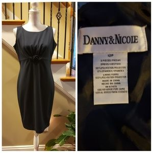 Danny and Nicole Navy Blue dress